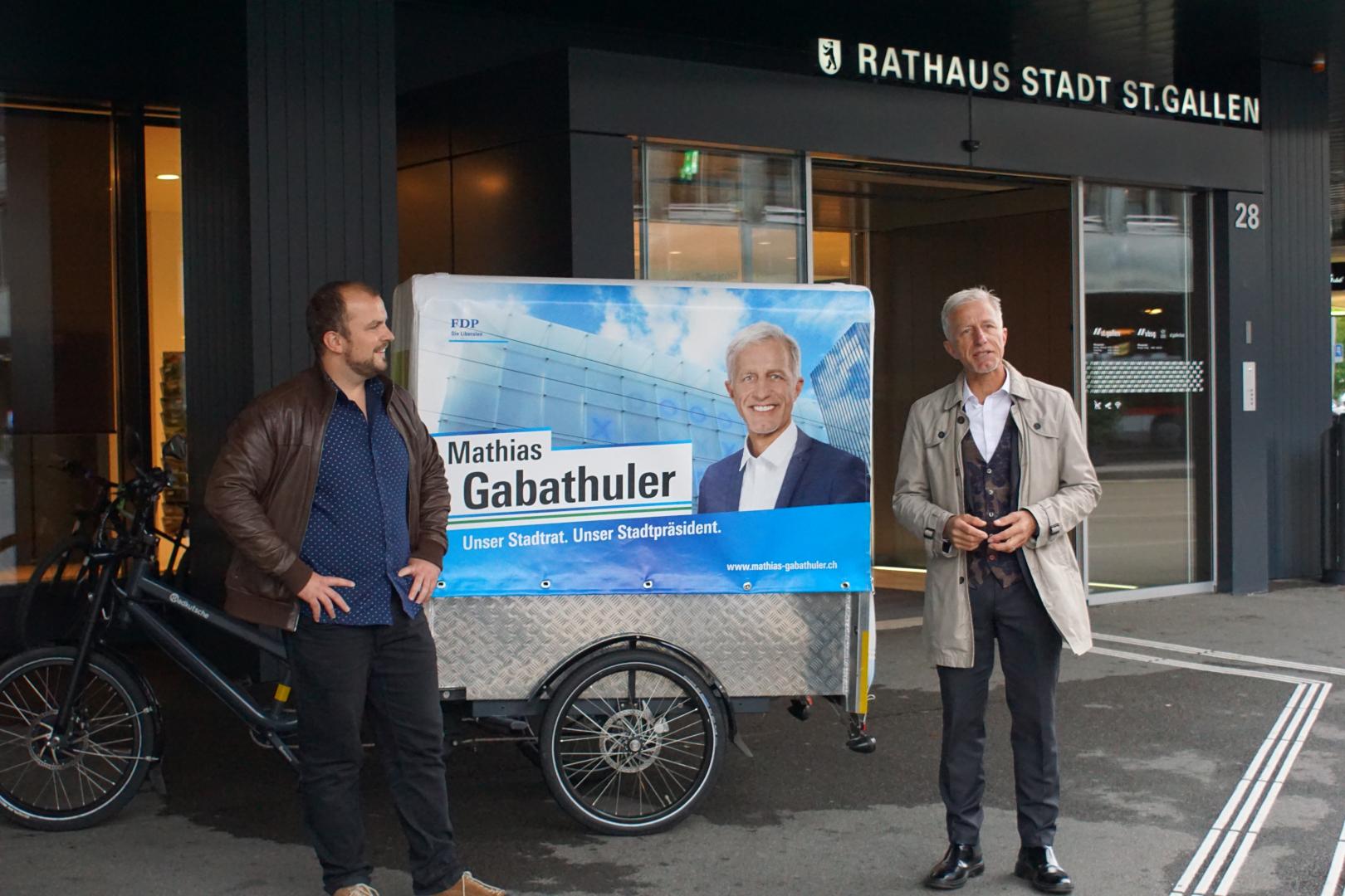 Stadtpräsidium St.Gallen: Kandidaten für 2. Wahlgang