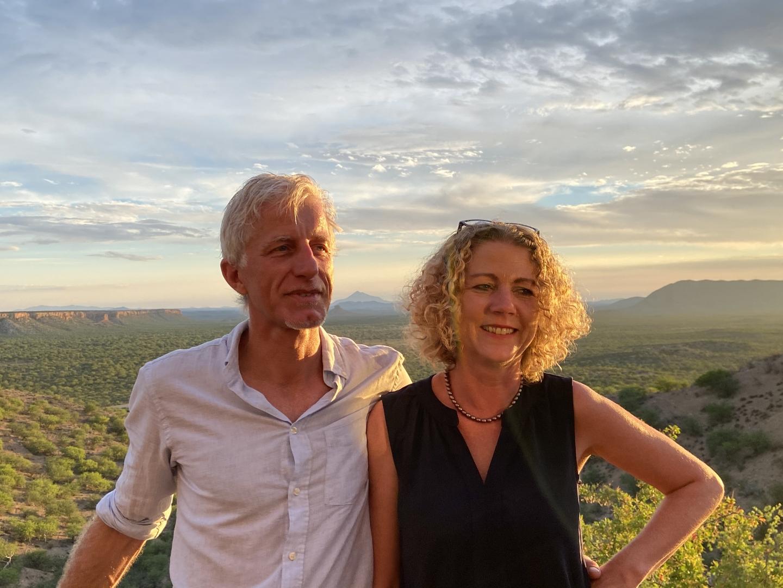 Mathias Gabathuler mit Ehefrau Petra Neff