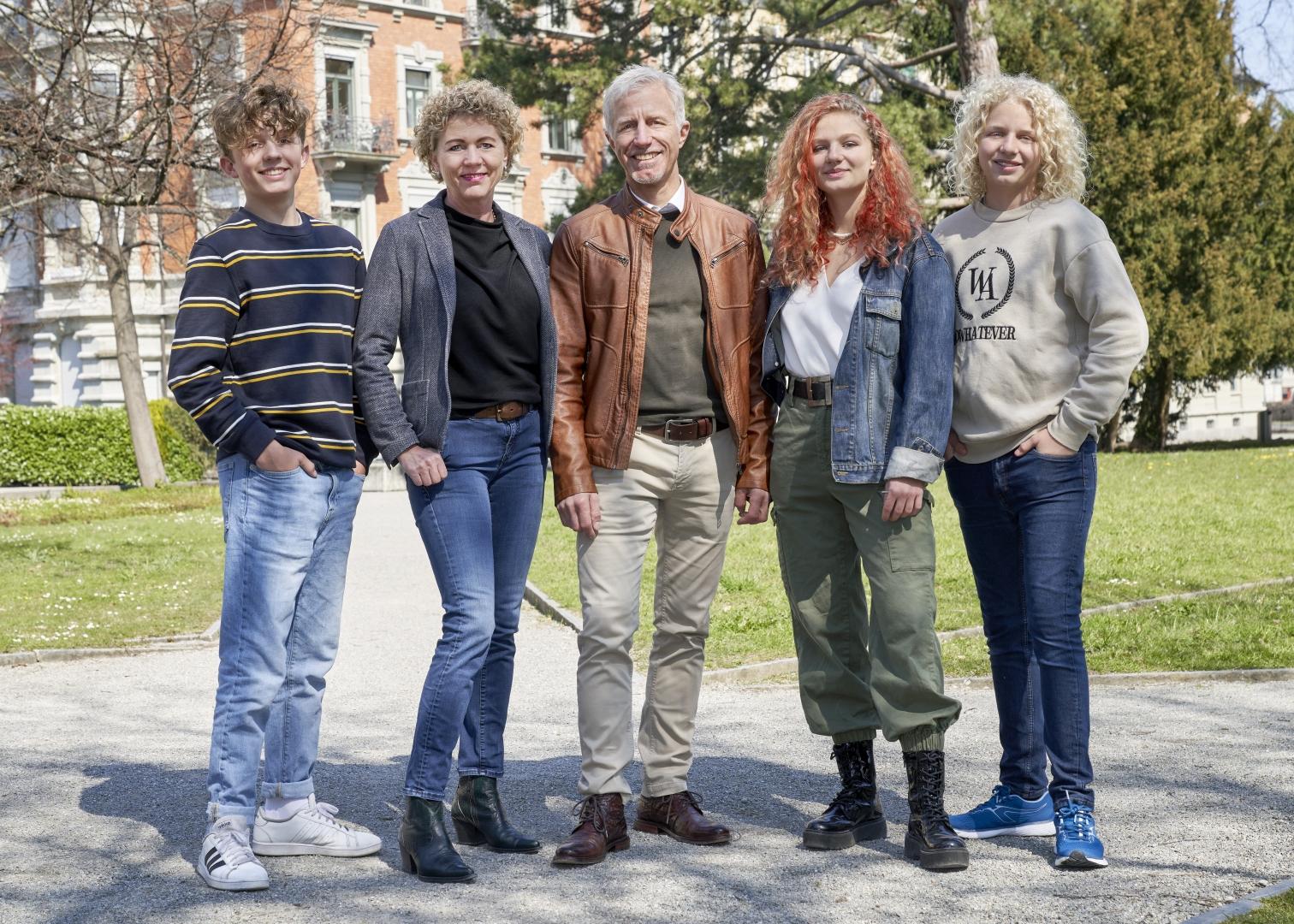 Familie Mathias Gabathuler